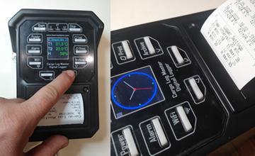 Cargo Log Master - Truck Temperature Recorder with Printer, GPS, WiFi