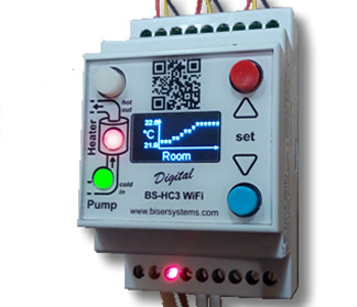 BS-HC3 WiFi - Control of an ion boiler for local heating